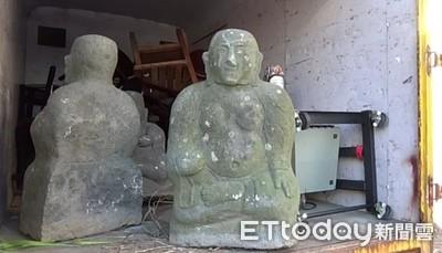 2賊偷關渡自然公園百公斤石雕變賣 藝品店老闆全推給亡弟