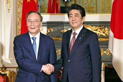 陸拘留日本教授 ... 安倍晉三與王岐山見面 強烈要求中方回應