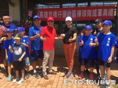 橋仔頭社區棒球隊從8人增加到20人 移師橋頭國中練球