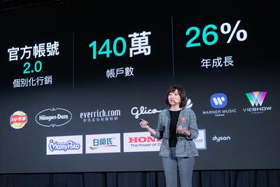 「分眾」精準行銷再進化 LINE官方帳號2.0攀升140萬較去年成長26%