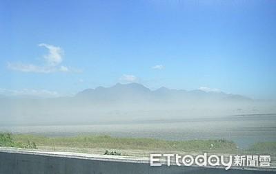 工區懸浮微粒秋冬攀高 台東環保局為民眾健康把關