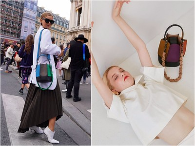 HOT・Stuff/南韓小眾牌「小太陽水桶包」 歐美潮人也狂背