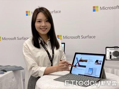 微軟Surface Pro 7在台上市 白金/墨黑二色可選、單機售價28,088元起