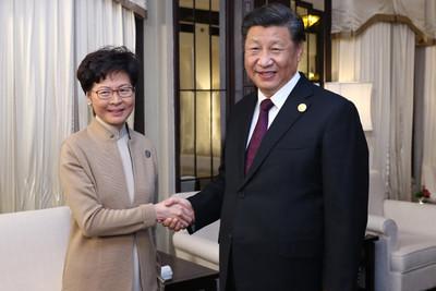 """林正月16日將去北京報到!預期報告地區選舉結果和""""制止暴力""""進展"""