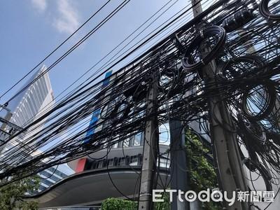 「泰國版第五大道」街景殺手是它!密密麻麻電線如鳥巢嚇壞人