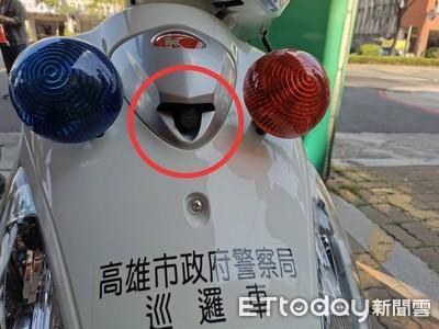 新警用機車配置「隱形鏡頭」民憂被開單機率大增!警闢謠:用途不在這