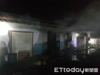 台南白河三合院民宅傳疑縱火 1人逃出昏迷送醫