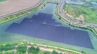 網傳水庫裝設太陽能板不環保 公部門澄清「不影響水質」