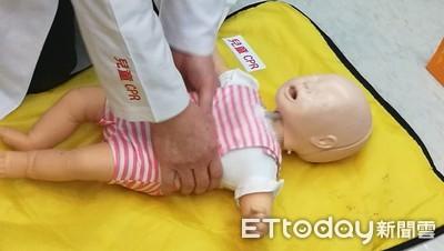 父母快學!長庚研究:兒童CPR救活率增1倍 嬰幼兒按壓有撇步