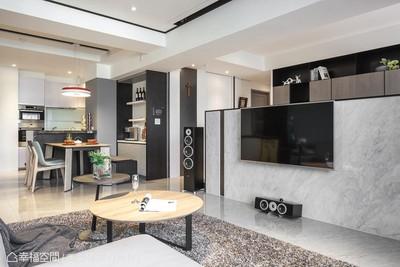 黑白灰主題色調打造「超質感新婚宅」 簡單生活大幸福!
