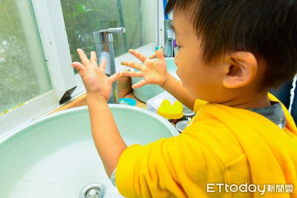腸病毒,洗手,細菌,疾病,幼兒保健,衛生,防疫,幼兒,衛教(圖/記者張一中攝)
