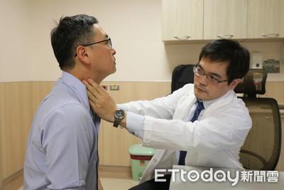 右頸腫大、鼻涕冒血絲!他抽菸患「4期鼻咽癌」醫:60%都末期