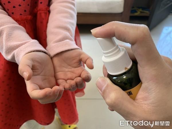 乾洗手,消毒液。(示意圖/記者李佳蓉攝)