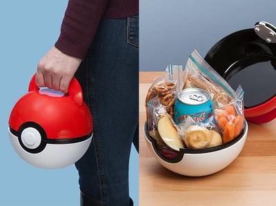 放大版寶貝球其實是野餐籃!打開裝滿食物變身「吃貨訓練師」