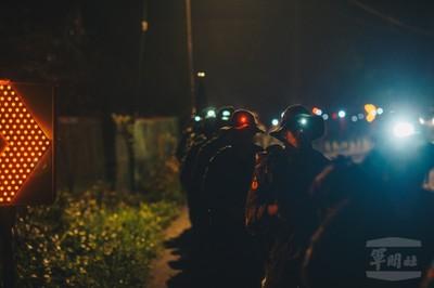 陸軍特指部特2營夜行軍 5天73公里演練反特攻反滲透等科目