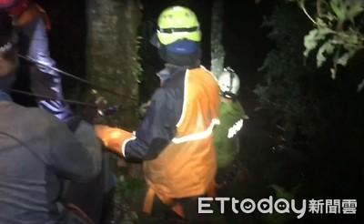 登山客失足跌入100公尺深谷 4人網約爬屏東霧台霞迭爾山1人慘死