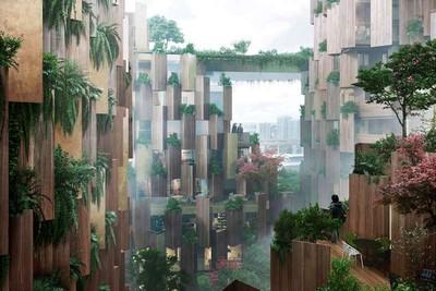 LIFE・經典/隈研吾打造城市綠意森林 「巴黎1號飯店」是建築也是公共花園