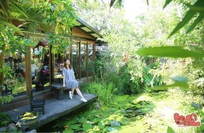 台中最美庭園餐廳!猶如置身森林裡的用餐環境 2人就可吃無菜單料理