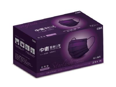 屈臣氏網店今日開賣中衛口罩「炫霓紫」 搶不到本周五還有機會