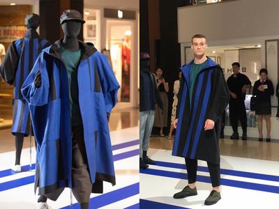 三宅一生秋冬男裝大玩幾何剪裁 推「正反兩穿」外套搶搭永續話題