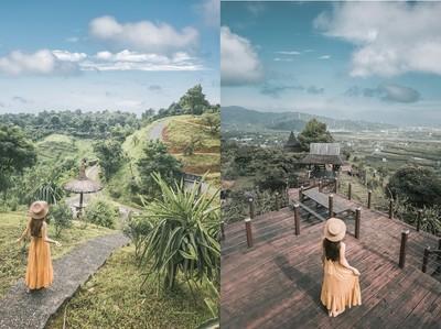 住進宜蘭版天空之城 峇里島風涼亭180度看蘭陽平原、童趣檜木房盪鞦韆