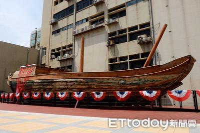 船齡超過100歲!傳奇古帆船「自由中國號」睽違65年亮相 永久停靠海洋大學