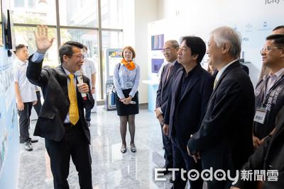 賴清德參訪研華科技!董事長劉克振提2大建言:政府應促成「工業物聯網」國家隊