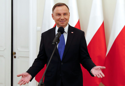 波蘭總統杜達確診新冠 習近平致電:祝你早日康復