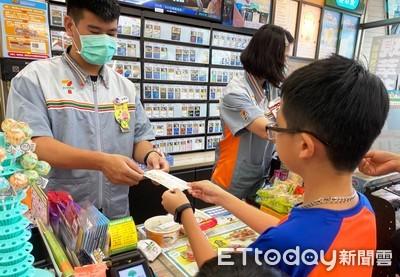 台南愛心餐食補給站暑假不打烊 社會局:弱勢生憑券可至四大超商兌換