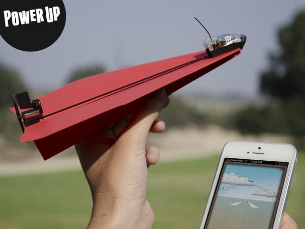 威力提升 遙控飛行的紙飛機!