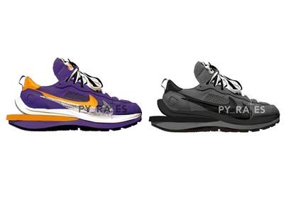 Sacai X Nike新聯名逼人包色!「黑魂」質感爆棚、「湖人紫金」球迷必收