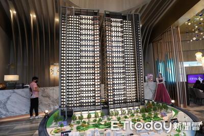 外地建商攻佔台南928檔 興富發60億案量近3分之1強