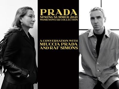直播/Raf Simons加入PRADA首秀9/24晚上8點登場 先開放粉絲提問