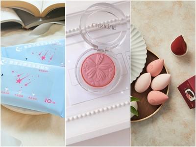 9月必買/56秒萬包秒殺的涼感濕紙巾 美翻的櫻花美妝蛋、腮紅