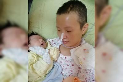 高雄29歲媽自然產用力過度中風!「半身癱瘓」抱嬰含淚復健