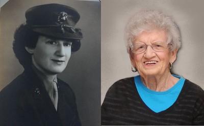 美國最長壽海軍陸戰隊女兵柯爾 歡慶107歲生日