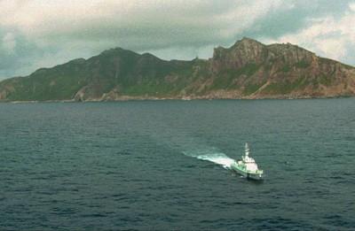 中國海警船連50天進釣魚台海域 日武裝巡邏艦警告