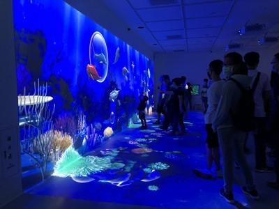 Xpark絕美海底世界攻佔IG!幕後「台灣之光」進懋醞釀30年 夢幻投影接軌國際