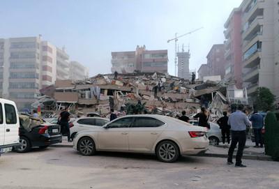 快訊/愛琴海再度發生規模5.1強震 土耳其已知6死321傷、希臘2死