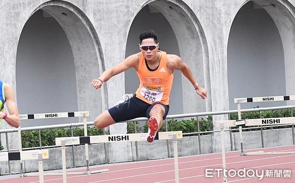 陳傑東奧測試賽400欄繳52秒08 無緣再創最佳排在墊底第9位