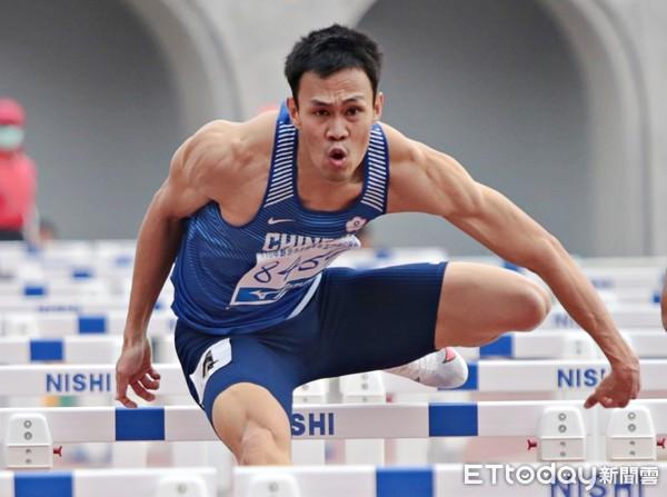 陳奎儒東奧測試賽110欄13秒62排第五 仍創本賽季最佳