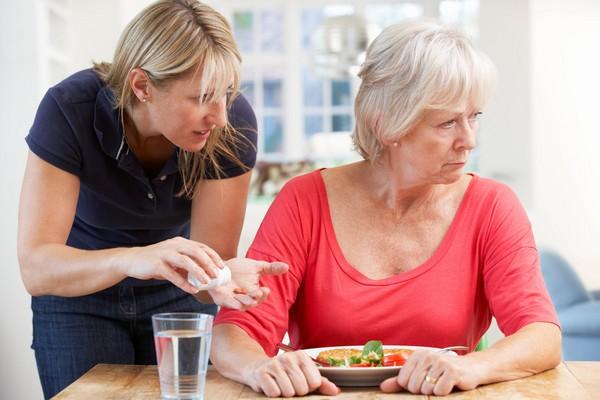 女性罹患阿茲海默症。老人失智。(圖/示意圖/達志影像)