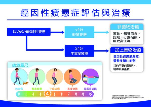 ▲▼癌疲憊診斷與治療。(圖/台灣癌症全人關懷基金會提供)