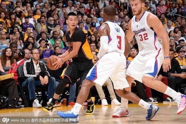 NBA/Kobe喊話奏效 林書豪砍17+9強壓保羅